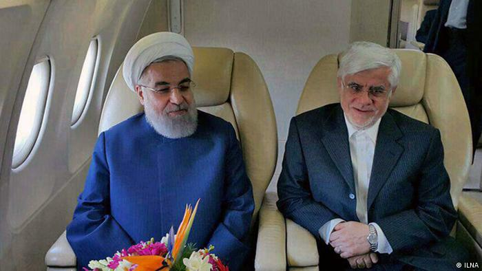 Iran Hassan Rohani und Mohammad Reza Aref (ILNA)