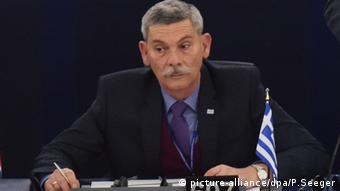 Straßburg EU Parlament Eleftherios Synadinos Griechenland