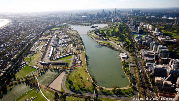 Formel 1 Rennstrecke Melbourne (picture-alliance/LAT Photographic)