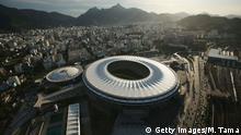 Brasilien Maracana Stadion in Rio de Janeiro