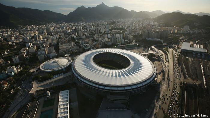 O estádio do Maracanã será um dos palcos da Rio 2016