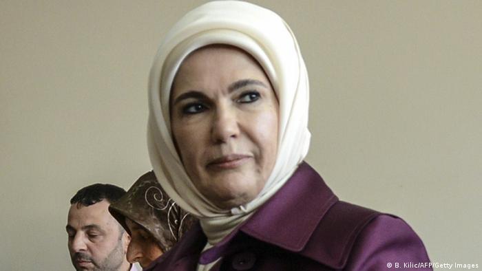 Turkish first lady praises Ottoman-era harem for ′preparing