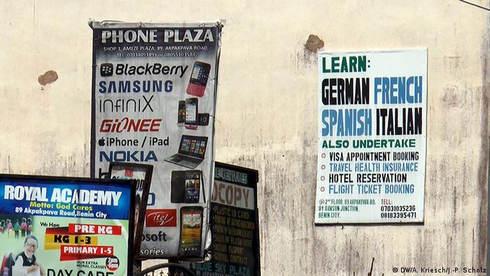Werbung für Reisen nach Europa (Foto: Scholz/Kriesch)