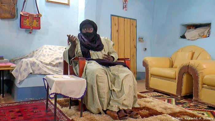 Sultan von Agadez, Omar Ibrahim Omar, in seinem Palast (Foto: Scholz/Kriesch)