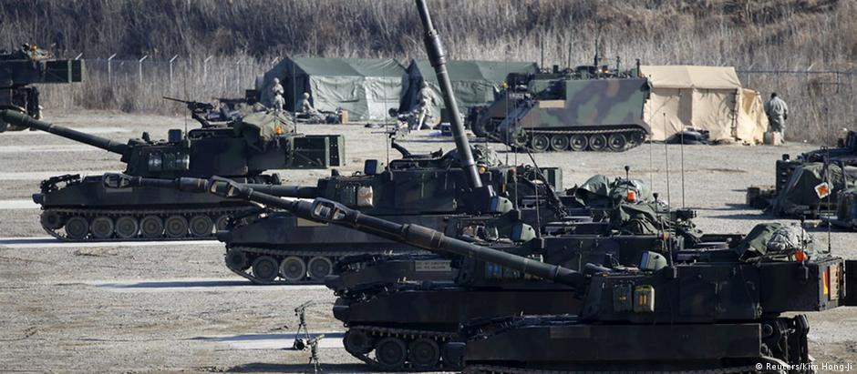 Südkorea gemeinsames Manöver mit den USA