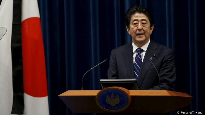 Japan PK Shinzo Abe Jahrestag Erdbeben Tsunami Fukushima