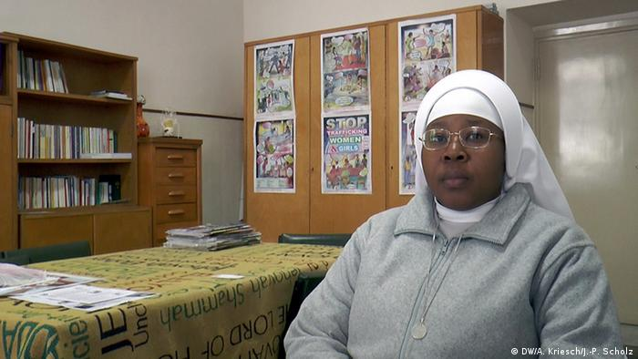 Anti-Menschenhandels-Aktivistin Schwester Monika Uchikwe (Foto: Kriesch/Scholz)