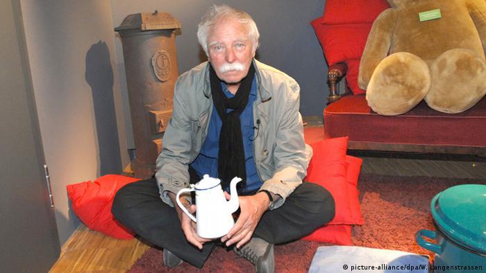 Deutschland Kinderbuchautor Janosch im Günter-Grass-Haus in Lübeck