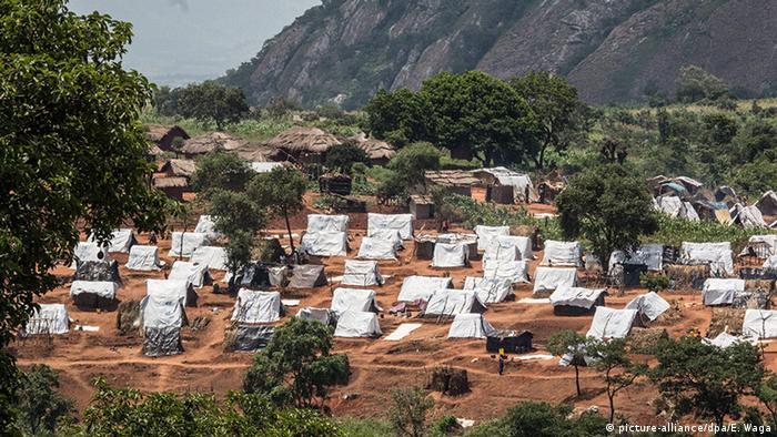 Malawi Mwanza Flüchtlings Camp