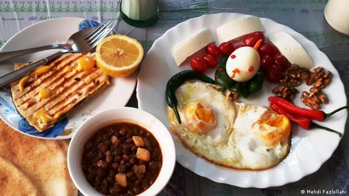 Iran Persische Küche Frühstück (Mehdi Fazlollahi)