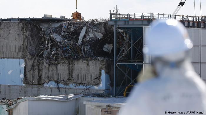 Fukushima Japan TEPCO (Getty Images/AFP/T.Hanai)