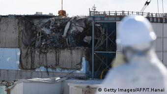 Разрушенное здание АЭС Фукусима, февраль 2016 года