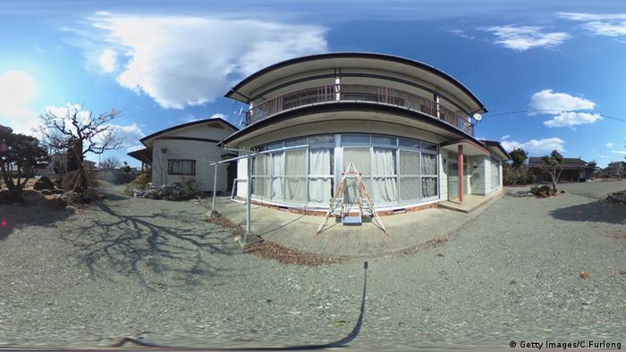 Japan Fukushima Wohngebiet Sperrzone