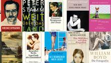 ***Das Bild darf nur als Startbild für die Bildergalerie Bücher benutzt werden und im Zusammenhang mit der Berichterstattung alle diese Bücher***
