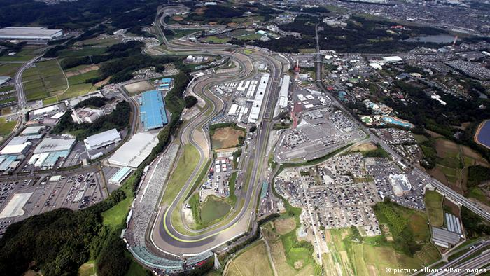 Formel 1 Rennstrecke in Japan (picture alliance/Panimages)
