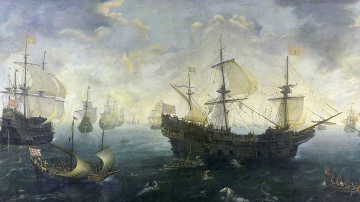 Корнелис Клас ван Виринген. Морской бой