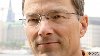 Porträt des Islamwissenschaftlers Stephan Rosiny (Foto: GIGA German Institute of Global and Area Studies / Leibniz-Institut für Globale und Regionale Studien)