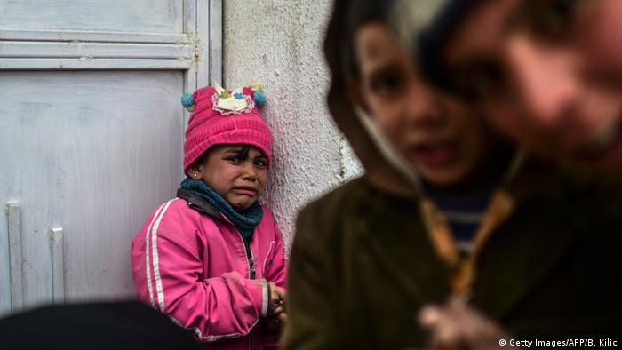 Syrian children near Aleppo, 2016