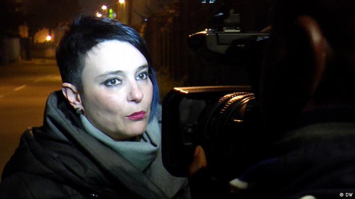 Sozialarbeiterin Lisa Bertini im Interview (Foto: Scholz/Kriesch)