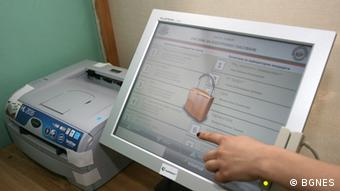 Bulgarien System für elektronische Stimmenabgabe bei Wahlen