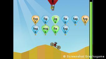Screenshot von Graphogame