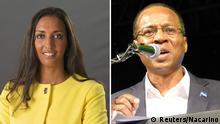 Bildkombi Janira Hopffer Almada und Ulisses Correia e Silva (Kap Verde)