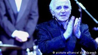 Charles Aznavour on one of his Farewell Tours