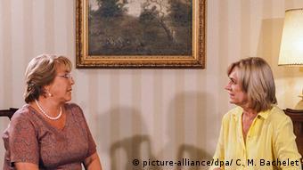 Matthei se reunió con Bachelet tras las elecciones para desearle éxito en su mandato.