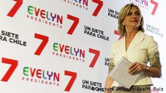 Matthei durante la campaña presidencial de 2013.