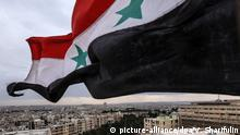 Syrien Aleppo Flagge (picture-alliance/dpa/V. Sharifulin)