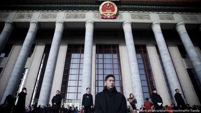 China Nationaler Volkskongress in Peking (picture alliance/dpa/Imaginechina/Yin Tianda)