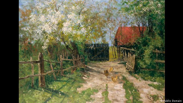 Весна, Элизабет фон Айкен, 1890