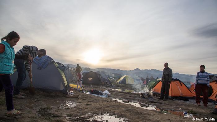 Griechenland Idomeni Flüchtlingslager