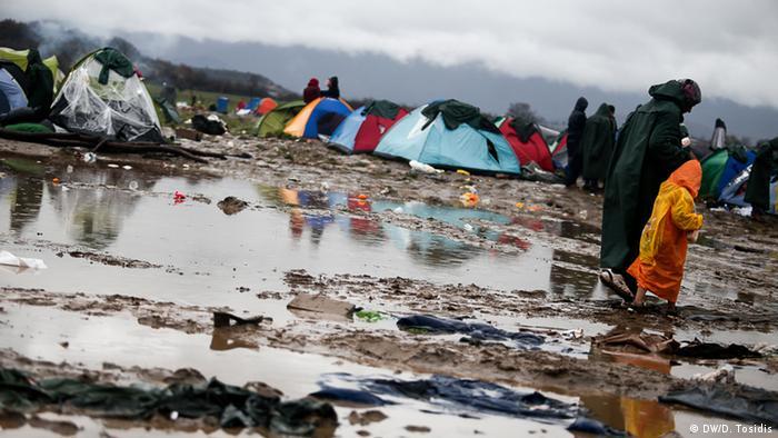 a tent camp copyright: Dimitris Tosidis,