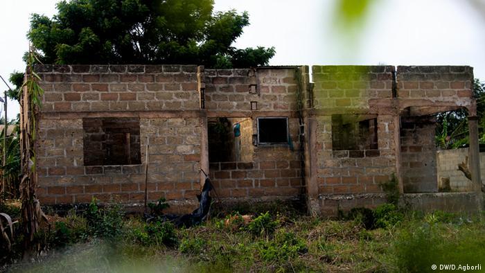 Dealer Drogenhandel Marihuana Afrika Ghana Accra