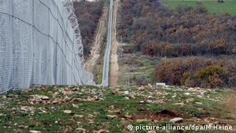 Загражденията на българо-турската граница
