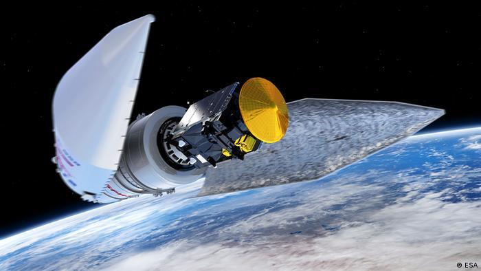 Космічний зонд Скіапареллі на шляху до Марса