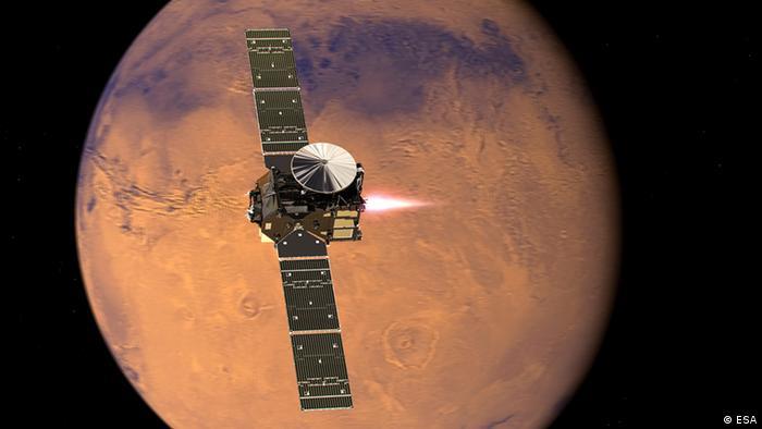 Збір інформації на орбіті Марса