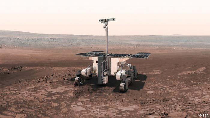 Самохід ExoMars - наступна місія на Марсі
