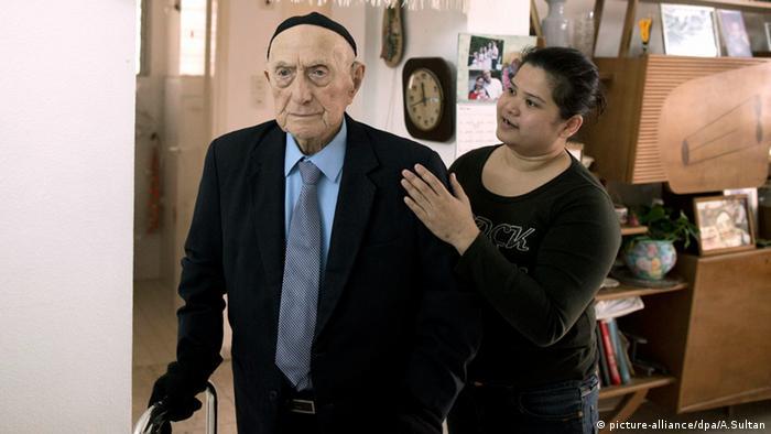Israel Yisrael Krystal älterster Mann der Welt Haifa Guiness Buch der Rekorde