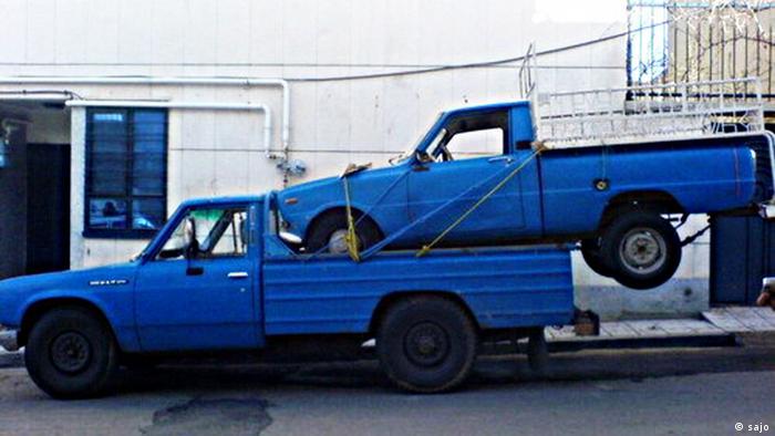 Iran Transporter Nissan Zamyad