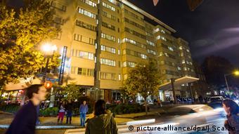 Отель Dupont Circle в Вашингтоне, где перед смертью остановился Михаил Лесин