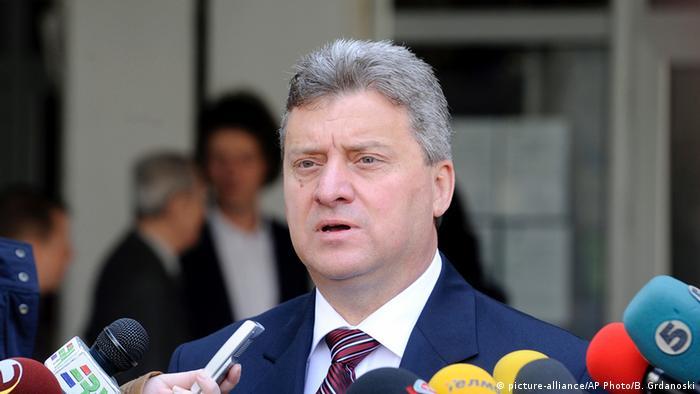 Mazedonien Gjorge Ivanov Präsident