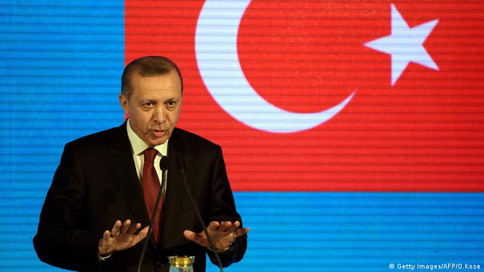 It's all about Erdogan.