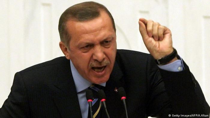 Türkei Präsident Tayyip Erdogan Rede (Getty Images/AFP/A.Altan)