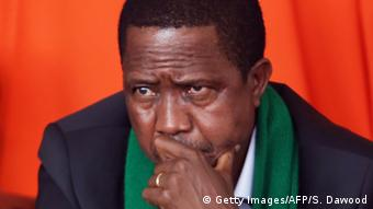 Zambian president, Edgar Chagwa Lungu