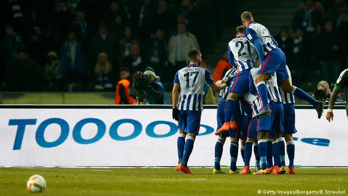 Bundesliga Schalke 04 vs Hertha Berlin