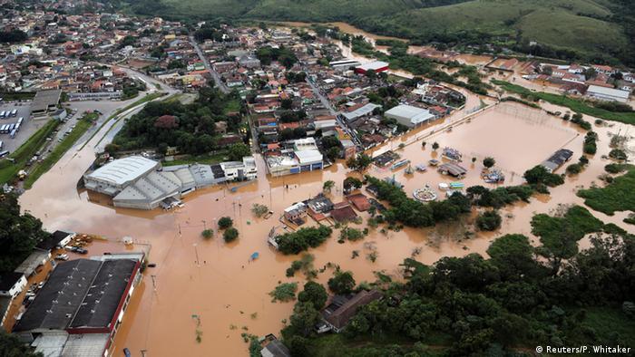 Brasilien Überschwemmungen nach Unwetter