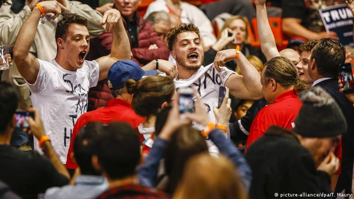 USA Republikaner Vorwahlen Donald Trump University of Illinois Chicago Proteste