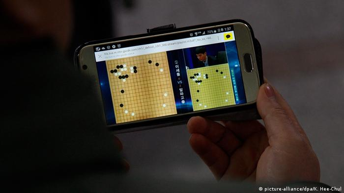 Südkorea Go-Wettkampf Google-Software AlphaGo vs. Lee Sedol